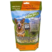 OC Raw Meaty Rox Chicken, Fish & Produce Freeze Dried Dog Food, 5.5-oz Bag