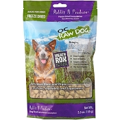 OC Raw Meaty Rox Rabbit & Produce Freeze Dried Dog Food, 5.5-oz Bag