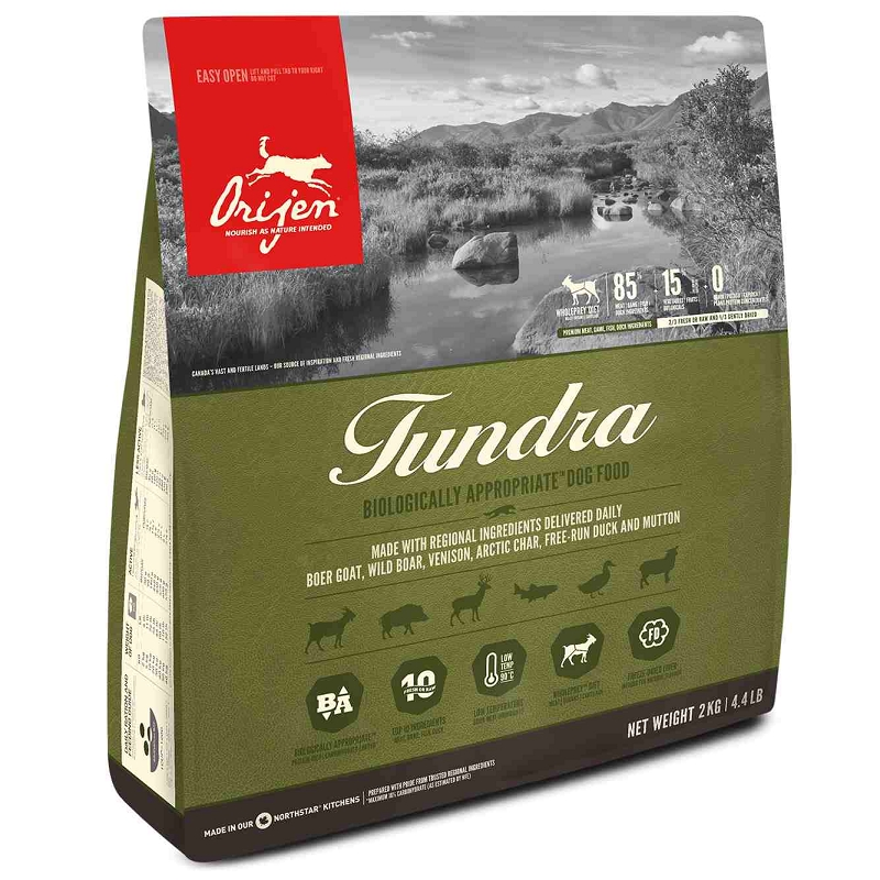 Orijen Tundra Grain Free Dry Dog Food 4 4 Lb Bag
