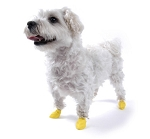 Pawz XX-Small Yellow Waterproof Dog Boots