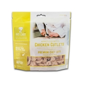 Pet Chef Chicken Cutlets Freeze-Dried Dog Treats, 2.2-oz Bag