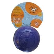 Planet Dog Orbee-Tuff Violet Diamond Plate Ball Dog Toy