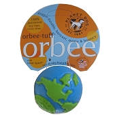 Planet Dog Orbee-Tuff Orbee Ball, Small - Blue/Green