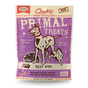 Primal Beef Nibs Dog & Cat Treats