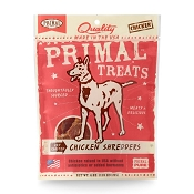 Primal Chicken Shredders Dry Roasted Dog Treats