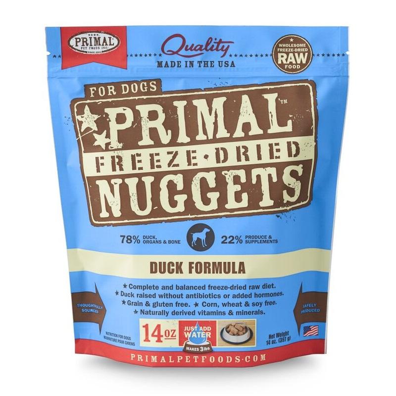 Primal Pets Freeze Dried Dog Food