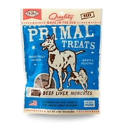 Primal Beef Liver Munchies Freeze-Dried Dog Treats