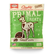 Primal Jerky Turkey Chips Dog Treats