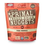 Primal Pork Formula Nuggets Freeze-Dried Cat Food