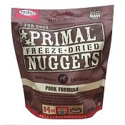 Primal Pork Formula Nuggets Freeze-Dried Dog Food, 14-oz Bag
