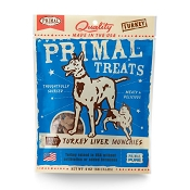 Primal Turkey Liver Munchies Freeze-Dried Dog Treats