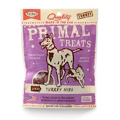 Primal Jerky Turkey Nibs Dog & Cat Treats