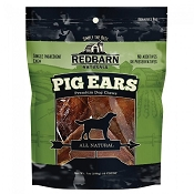 Redbarn Natural Pig Ears Dog Treats, 10-Count