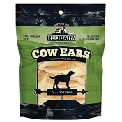 Redbarn Naturals Cow Ears Dog Treats, 10-Count