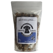 Sammy Snacks Snackers Blueberry Recipe Dog Treats, 16-oz Bag