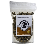Sammy Snacks Pumpkin Snackers Dog Treats, 16-oz Bag