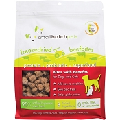 Small Batch Freeze-Dried Beef Bites Dog Treats, 7-oz Bag