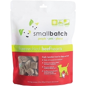 Small Batch Freeze-Dried Beef Hearts Dog Treats, 3.5-oz Bag