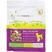 Small Batch Freeze-Dried Turkey Bites Dog Treats, 7-oz Bag