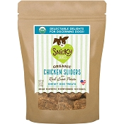 Snicky Snaks Chicken Sliders with Sweet Potato Organic Dog Treats, 5.5-oz