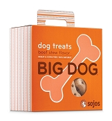 Sojos Big Dog Beef Stew Flavor Dog Treats