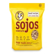 Sojos Complete Beef Recipe Freeze-Dried Dog Food, 2 lb