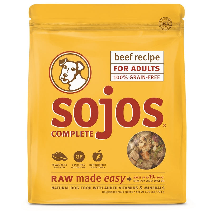 Sojos Beef Complete Dog Food
