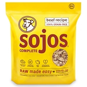 Sojos Complete Beef Recipe Freeze-Dried Dog Food, 8-lb Bag