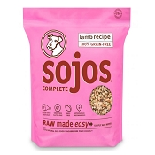 Sojos Complete Lamb Recipe Freeze-Dried Dog Food, 2 lb
