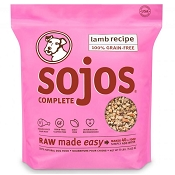 Sojos Complete Lamb Recipe Freeze-Dried Dog Food, 8-lb Bag