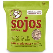 Sojos Grain-Free Recipe Freeze-Dried Dog Food Mix, 8-lb