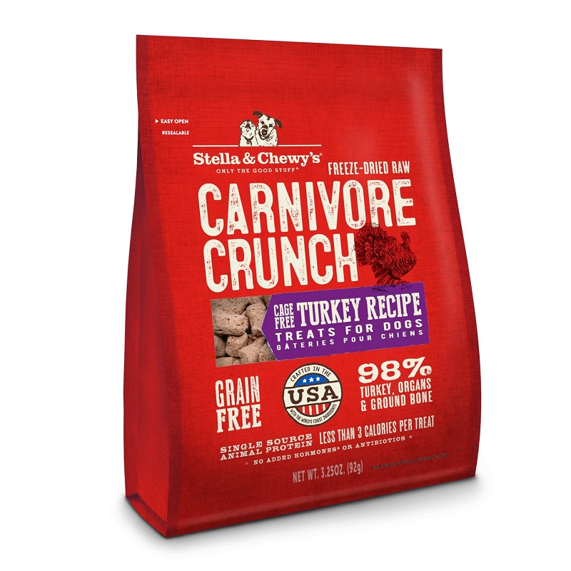 Stella Amp Chewy S Carnivore Crunch Cage Free Turkey Freeze