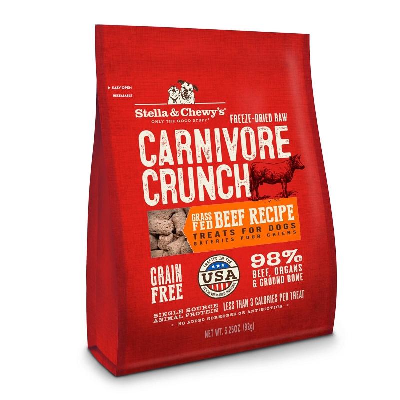 Stella Amp Chewy S Carnivore Crunch Grass Fed Beef Recipe
