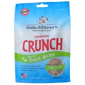 Stella & Chewy's Carnivore Crunch Freeze-Dried Duck Treats for Dogs