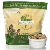 Steve's Freeze Dried Turducken Recipe Dog & Cat Food, 1.25-lb Bag
