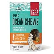 The Honest Kitchen Beams Ocean Chews Cod Fish Skins Dehydrated Dog Treats, Talls