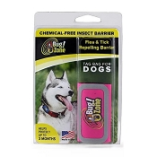 0Bug!Zone Flea & Tick Repelling Barrier with Tag Bag, Pink