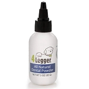 4Legger All Natural Dental Powder Toothpaste Alternative for Dogs