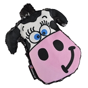 American Dog Moo-Ria Cow Crinkle USA Made Dog Toy