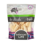 Balanced LiFe Air Dried Lamb Ears Dog Treats, 16 Pieces