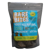 Bare Bites 100% All Natural Dehydrated Beef Liver Dog & Cat Treats, 1-lb Bag
