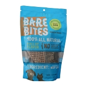Bare Bites 100% All Natural Dehydrated Beef Liver Dog & Cat Treats, 6-oz Bag