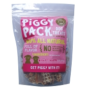 Bare Bites Piggy Pack Dehydrated Pork Jerky Dog Treats, 16-oz Bag