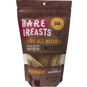 Bare Breasts Dehydrated Chicken Breast Jerky Dog & Cat Treats, 6-oz Bag