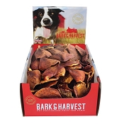 Bark & Harvest Pork Chins Dog Treats, 50-Count Box
