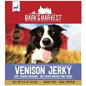 Bark & Harvest Venison Jerky Dog Treats, 8-Count