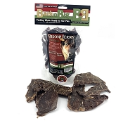 BarknBig Bison Heart Jerky Dog Treats