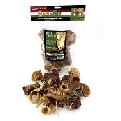 BarknBig USA Beef Trachea Moo-Hoo Pieces Dog Treats, 10-oz Bag