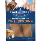 Barkworthies I Can't Believe It's Not Rawhide Dog Chews, Large