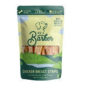 Beg & Barker Chicken Breast Strips Human Grade Dog Treats, 10-oz Bag